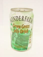 Green grass jelly drink 320ml Wonderfarm - Others - 8935001206330 - 1