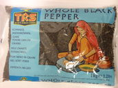 Whole black pepper 1kg TRS - Whole - 5017689037550 - 1