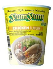 Chicken flav. cup noodle 70g Yum Yum - Instant noodles - 8852018201021 - 1