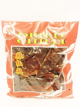 Dried chilli large w/out stem 100g Cock - Other dried products - 084909000811 - 1
