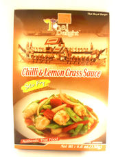 Chilli lemon grass 130g Thai Delight - Other sauces - 8850643068002