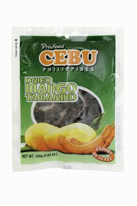 Dried mango tamarind 100g Cebu - Other dried products - 716221050662 - 1