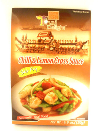 Chilli lemon grass 130g Thai Delight - Other sauces - 8850643068002 - 1