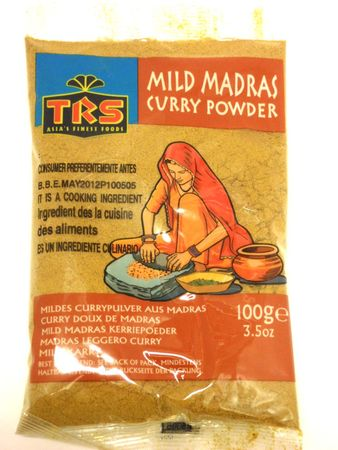Mild curry powder 100g TRS - mixed spices - 5017689002732 - 1