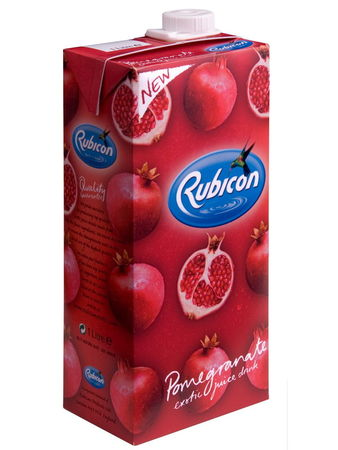 Pomegranate juice drink 1l Rubicon - Juices - 5011898001333 - 3
