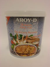 Massaman curry paste 400g Aroy-D - Spice paste - 016229906214