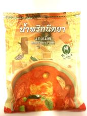 Red curry paste 500g Nittaya - Spice paste - 8855237000024
