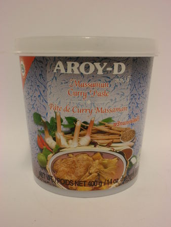 Massaman curry paste 400g Aroy-D - Spice paste - 016229906214 - 1