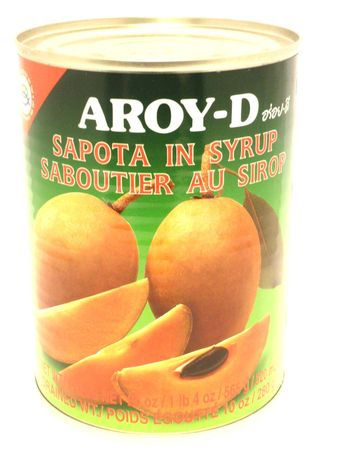 Sapota in syrup 565g Aroy-D - Fruits - 016229005344 - 1