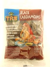 Black cardamoms 50g TRS - Whole - 5017689038755 - 1