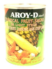 Tropical fruitsalad in syrup 565g Aroy-D - Fruits - 016229001865 - 1