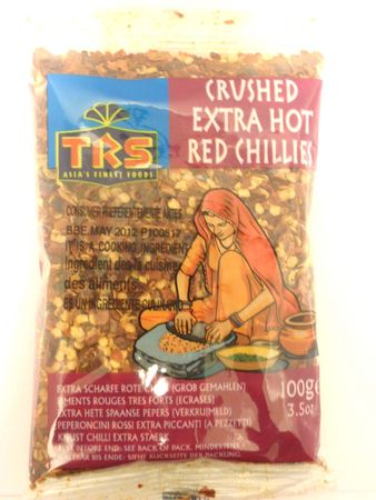 Crushed extra hot red chillies 100g TRS - Others - 5017689010355 - 1