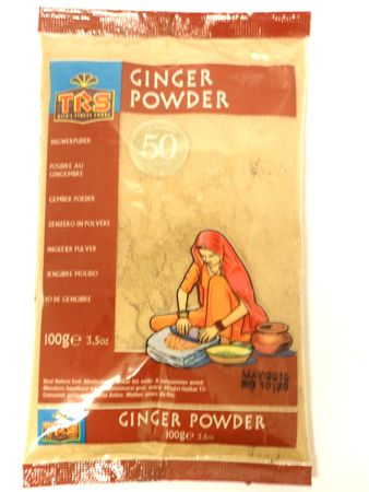 Ginger powder 100g TRS - Powders - 5017689002565 - 1