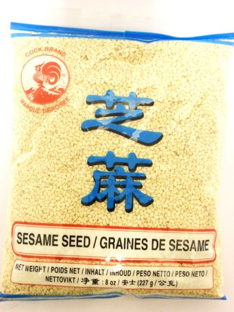 Sesame seeds white 227g Cock - Whole - 084909011725 - 1