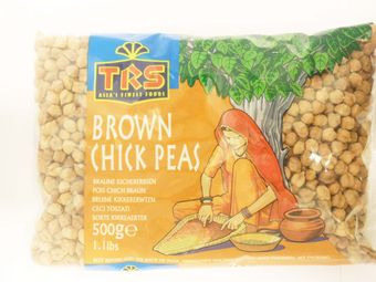 Brown chick peas 500g TRS - Beans - 5017689065416 - 1