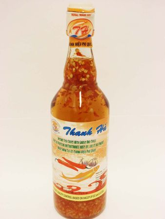 Instant fish sauce with garlic & chilli - Fishery - 8934851502586 - 1