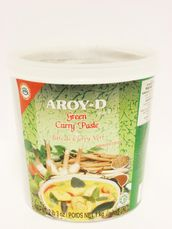 Green curry paste 1kg Aroy-D - Others - 016229907037 - 1