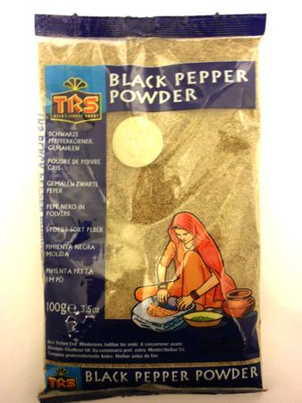 Black pepper powder 100g TRS - Powders - 5017689006617 - 1