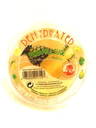 Dehydrated pineapple slice 150g Cock - Snacks - 084909017147 - 1
