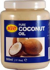Coconut oil 500ml KTC - Oils - 5013635101818