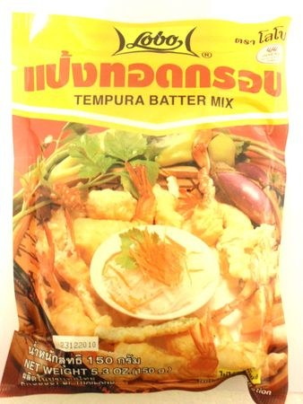 Tempura batter mix 150g Lobo - Mixed - 8850030110468 - 1