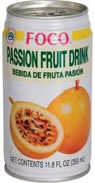 Passion fruit drink 350ml Foco - Juices - 016229901189