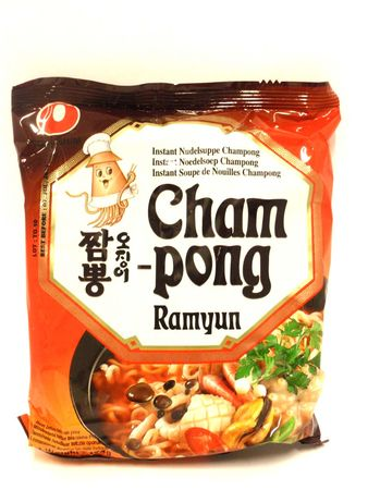 Champong ramyun 124g Nong Shim - Instant noodles - 8801043157759 - 1