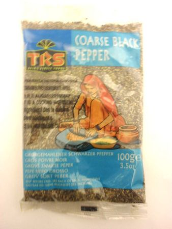 Coarse black pepper 100g TRS - Powders - 5017689010669 - 1