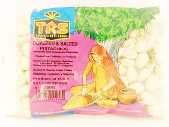 Roasted & salted pistachios 250g TRS - Snacks - 5017689802189 - 1