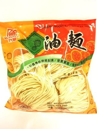 Yu meng noodle 340g Six Fortune - Wheat vermicelli - 079763111339 - 1